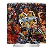Hot Jazz Series 4 Shower Curtain