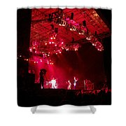 Hot Night Shower Curtain