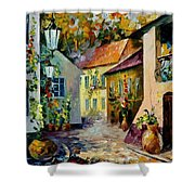 Hot Noon Original Oil Painting  Shower Curtain