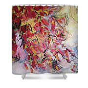 Hot Pepper Drying Shower Curtain