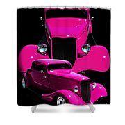 Hot Pink 33  Shower Curtain