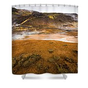 Hot Planet Shower Curtain