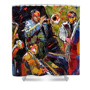 Hot Quartet Shower Curtain