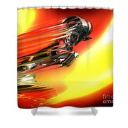 Hot Ram  Shower Curtain