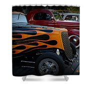 Hot Road Shower Curtain