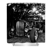 Hot Rod - Ford Model A Shower Curtain