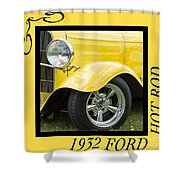 Hot Rod 10 Shower Curtain