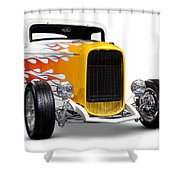 Hot Rod Ford Hi-boy Coupe 1932 Shower Curtain
