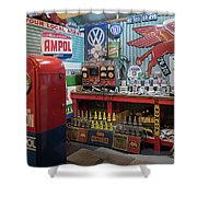 Hot Rod Garage 2 Shower Curtain