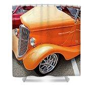 Hot Rod Reflection Shower Curtain