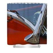 Hot Rod Steering Wheel 4 Shower Curtain