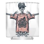 Hot Rod Shower Curtain