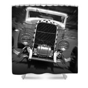 Hot Rods At Pendine 11 Shower Curtain