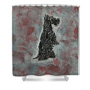 Hot Scottie Shower Curtain