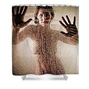 Hot Shower Shower Curtain