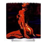 Hot Skin Shower Curtain