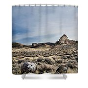 hot springs day-2367-2-R2. Shower Curtain