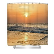 Hot Summer Sun Shower Curtain