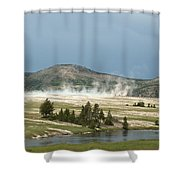 Hot Time Shower Curtain