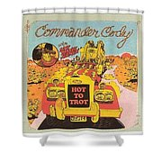 Hot To Trot Shower Curtain