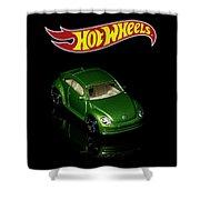Hot Wheels 2012 Volkswagen Beetle Shower Curtain by James Sage