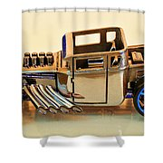 Hot Wheels Bone Shaker Hotwheels Shower Curtain