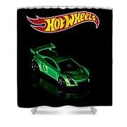 Hot Wheels Mastretta Mxr Shower Curtain