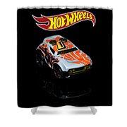 Hot Wheels Rocket Box Shower Curtain