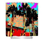Hot Winter Shower Curtain by Eikoni Images