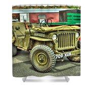 Hotchkiss Jeep Shower Curtain