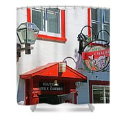 Hotel Cavalier Du Moulin  6373 Shower Curtain