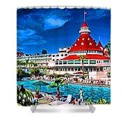 Hotel Coronado Shower Curtain