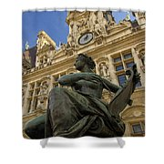 Hotel De Ville Shower Curtain