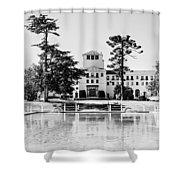 Hotel Del Monte - Bw Shower Curtain