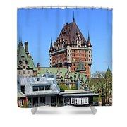 Hotel Fairmont Le Chateau Frontenac 6496 Shower Curtain