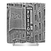 Hotel Fusion Shower Curtain