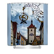 Hotel Goldener Hirsch Shower Curtain
