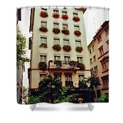 Hotel In Down Town Zurich Switzerland Shower Curtain