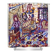 Hotel Costes Shower Curtain
