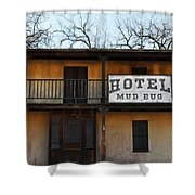 Hotel Mud Bug Paramount Ranch Shower Curtain