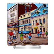 Hotel Nelson Old Montreal Shower Curtain