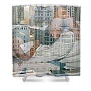 Hotel Phelan Reflection Shower Curtain
