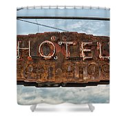 Hotel Pontotoc Shower Curtain