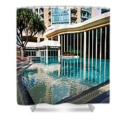 Hotel Swimming Pool Shower Curtain