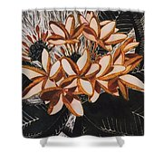 Hothouse Flowers Shower Curtain