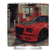 Hotred 300c Shower Curtain