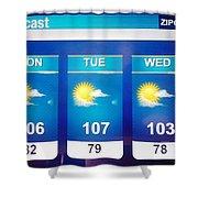 Hott Shower Curtain