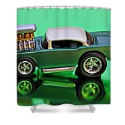 hotwheels blown 57 Chevy Shower Curtain