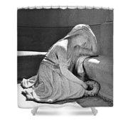 Houdini's Angel Shower Curtain by Robbie Masso