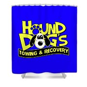 Hound Dogs Shower Curtain